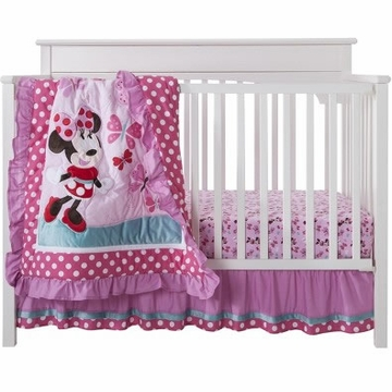 KidsLine Disney Minnie Mouse 3Pc Crib Set