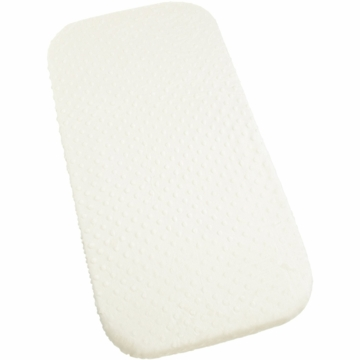 Carter's Super Soft Dot Changing Pad Cover in Ecru