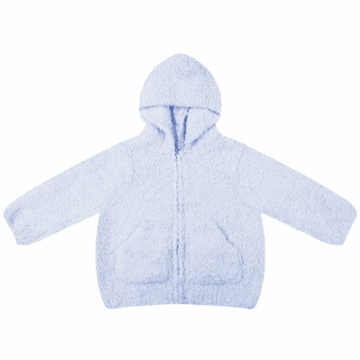 Angel Dear Classic Hooded Jacket in Light Blue  - 12 Months