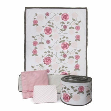 JJ Cole Crib Bedding - Sweet Primrose