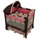 Graco Travel Lite Crib with Bassinet - Jacqueline