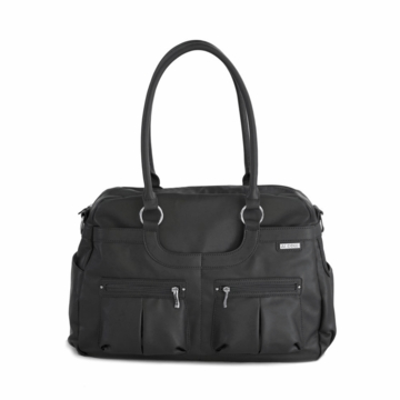 JJ Cole Faux Leather Satchel  - Licorice