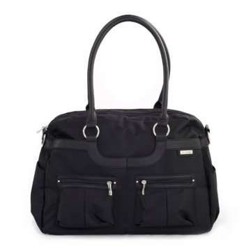 JJ Cole Satchel Canvas - Onyx