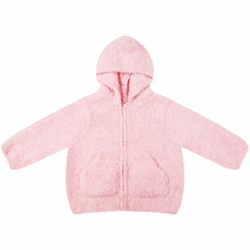 Angel Dear Classic Hooded Jacket in Pretty Pink  - 12 Months