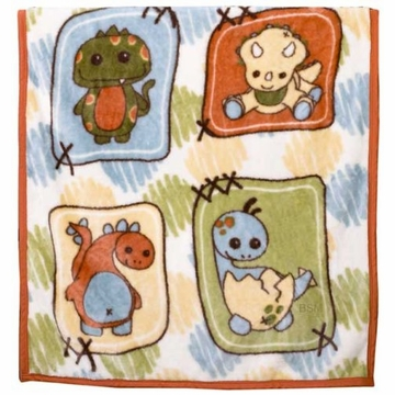 CoCaLo Dinos At Play Soft & Cozy Blanket