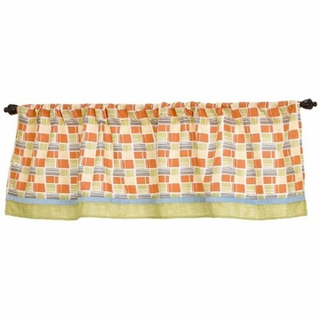 CoCaLo Dinos At Play Window Valance