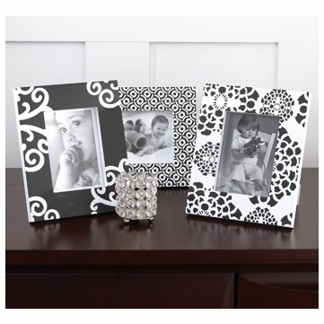 CoCaLo Elsa 3-Piece Picture Frame Set
