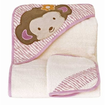 CoCaLo Jacana Hooded Towel & Wash Cloth Set
