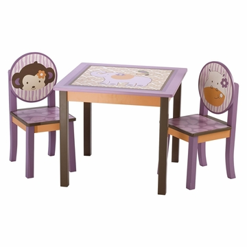 CoCaLo Jacana Table and Two Chairs Set