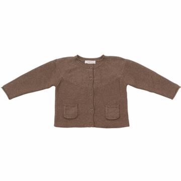 Angel Dear Valerie Caradigan in Cocoa Heather - 4T