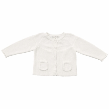 Angel Dear Valerie Caradigan in Ivory - 6 to 12 Months