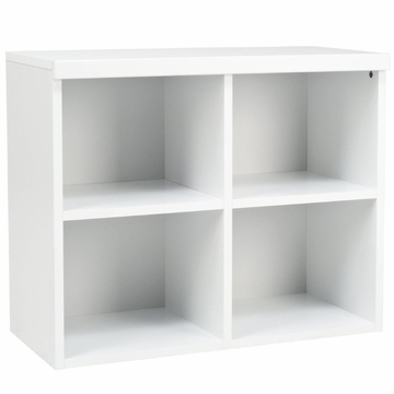 BabyLetto Storage Unit Open Cupboard in White