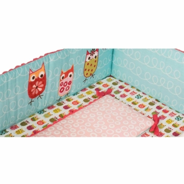 Kidsline Zutano Owls All Around Bumper