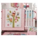 Kidsline Zutano Owls 4 Piece Crib Bedding Set