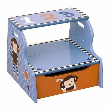 CoCaLo Monkey Mania Step Stool