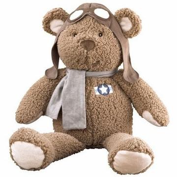 CoCaLo Lil' Aviator Plush Bear