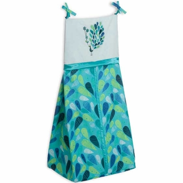Bananafish Peacock Blue Diaper Stacker
