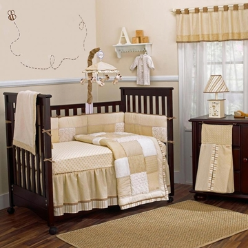 CoCaLo Snickerdoodle 8 Piece Crib Bedding Set