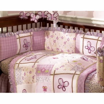 CoCaLo Sugar Plum Crib Bumper