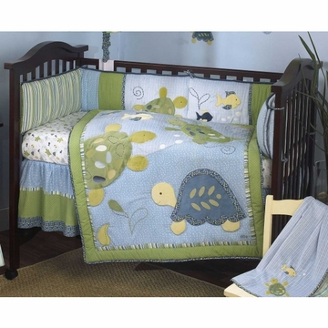 CoCaLo Turtle Reef Crib Bumper