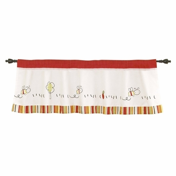CoCo & Company Baby Farm Window Valance