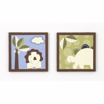 CoCo & Company Chomp N Stomp 2-Piece Wall Art