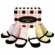 Trumpette Mary Jane Pastel Socks - 6 Pair, 0-12 Months