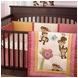 CoCo & Company Melanie the Monkey Crib Bumper