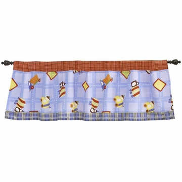 CoCo & Company Road Work Window Valance
