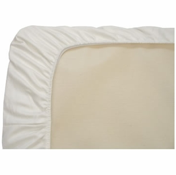 Naturepedic 3-Pack Fitted Organic Cotton Crib Sheets - White