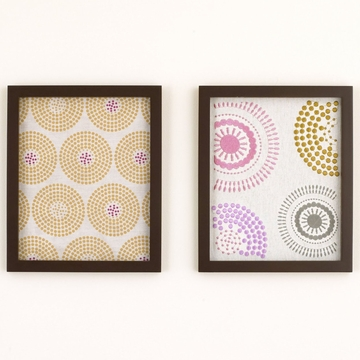 CoCaLo Iris 2-Piece Framed Wall Art
