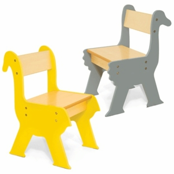 P'kolino Duck & Ostrich Chair Set