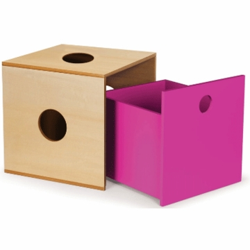 P'kolino Storage Kube Drawer in Fuchsia