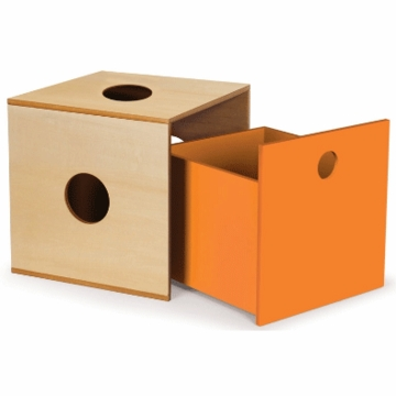 P'kolino Storage Kube Drawer in Orange