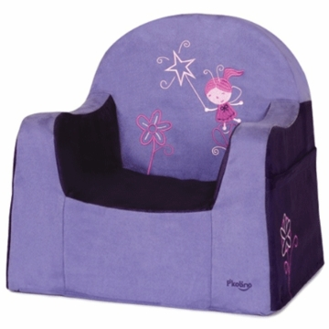 P'kolino Little Reader Embroidery Chair in Fairy