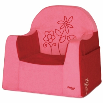P'kolino Little Reader Embroidery Chair in Flowers