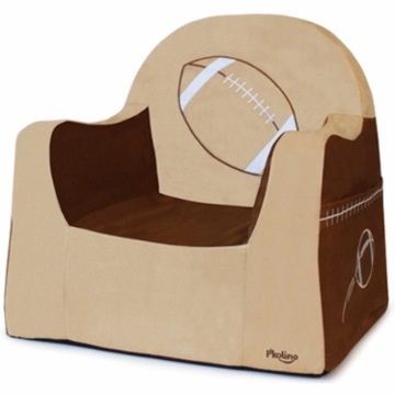 P'kolino Little Reader Embroidery Chair in Football