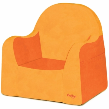 P'kolino Little Reader Chair in Orange