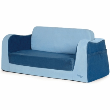 P'kolino Little Reader Sofa in Blue
