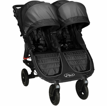 Baby Jogger City Mini GT Double Stroller Black / Shadow