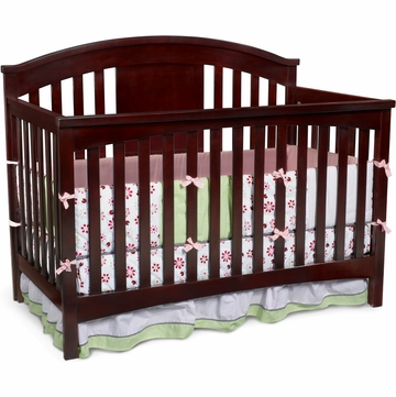 Delta Newport 4-in-1 Crib in Espresso Cherry