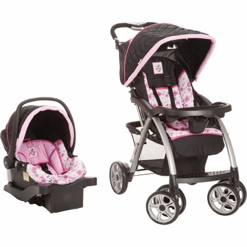 Safety 1st Disney  Saunter Luxe Travel System - Floral Minnie