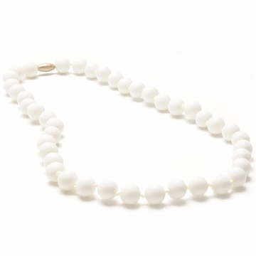 Chewbeads Jane Necklace - Simply White