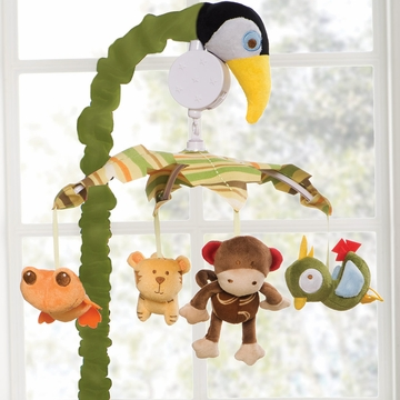 Kids Line Rainforest Musical Mobile