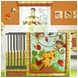 KidsLine Rainforest 7 Piece Crib Set