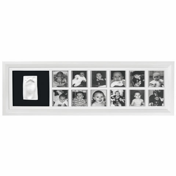 Baby Art Classic First Year Print Frame - White