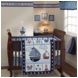 Bedtime Originals Sail Away 3 Piece Crib Bedding Set