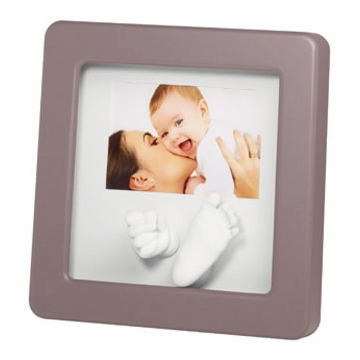 Baby Art Modern Photo Sculpture Frame - Taupe