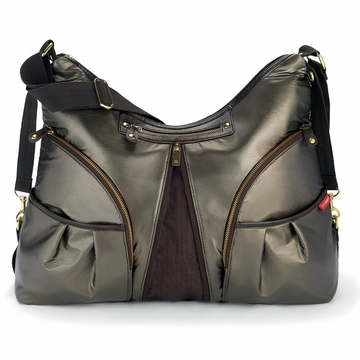 Skip Hop Versa Expandable Diaper Bag - Bronze