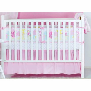 Novela Rose Baby Crib Bedding Set in Yellow/Blue